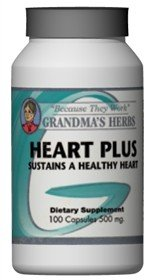 Heart Plus - Natural Heart Health And Blood Remedy - 100 Capsules