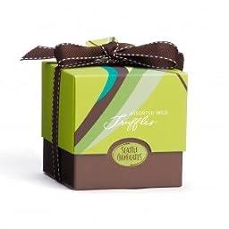 Seattle Chocolates Truffles, Mint Wave Gift Box, 6 Ounce