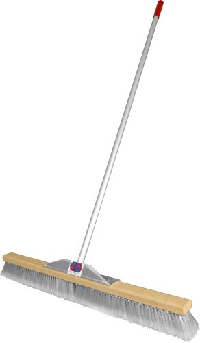 Super Sweep 36-Inch Gray Flagged Broom (Broom Grey compare prices)