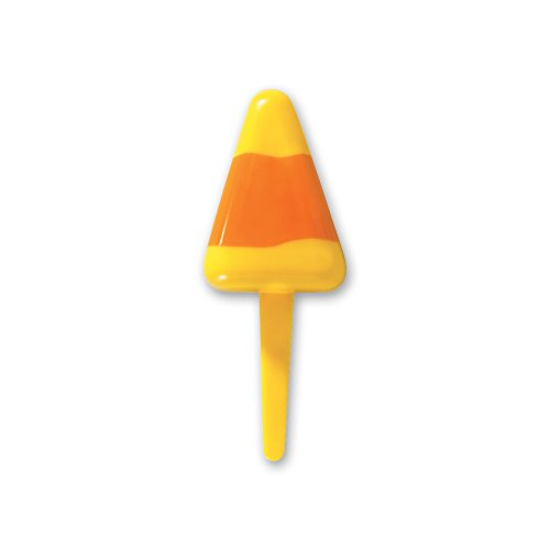 DecoPac Candy Corn Treats DecoPic Cupcake Picks (12 Count)