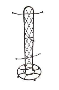 Home Basics Basket Weave Mug Tree
