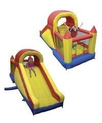 Mega Bounce And Slide Castle