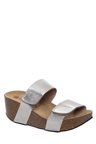 Cody Mid Wedge Slide Sandal