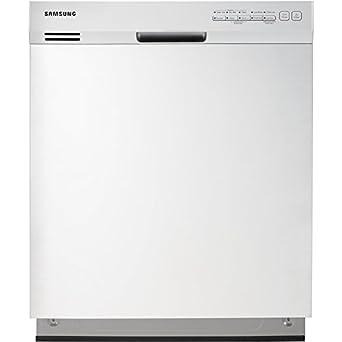 "Samsung DW7933LRAWW 24"" White Full Console Dishwasher - Energy Star"