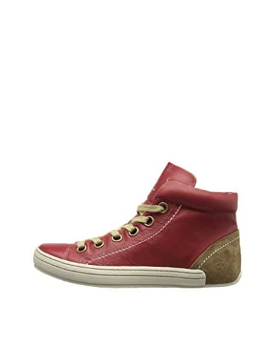 Fly London Botines Sall Rojo