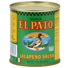 El Pato Jalapenos Salsa, 7.75-Ounce (Pack of 24) (El Pato Jalapeno Salsa compare prices)