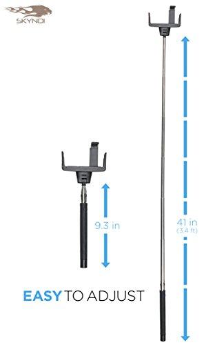 new limited edition selfie stick skyndi selfie stick 3 in 1 self portrait monopod selfie. Black Bedroom Furniture Sets. Home Design Ideas