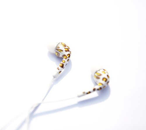 Leopard Stereo Headset Earphone Earbud Microphone For Samsung Galaxy S4 S3 S2 Note
