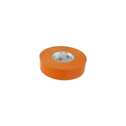 "Greschlers Toe Economy Electrical Tape, 60' Length X 3/4"" Width, Orange"