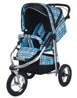 Baby-Bling-BBPB333P-Metamorphosis-Jogging-Stroller-Papillian-Blue-Open-BOX