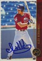 Alex Hernandez Altoona Curve - Pirates Affiliate 1999 Just Memorabilia Autographed... by Hall of Fame Memorabilia