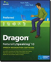 Dragon Naturallyspeaking Prefer 10.0 Brown Bag with headset for Retail