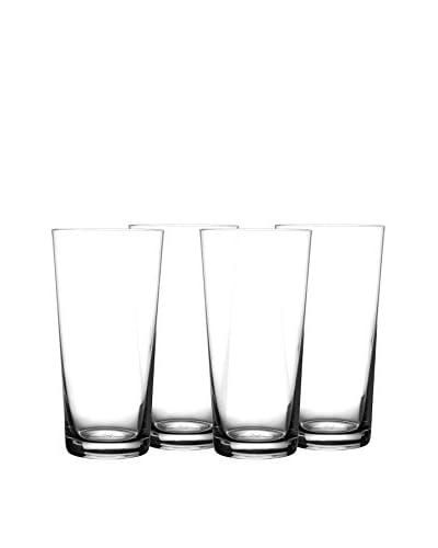 Fitz & Floyd Jive Set of 4 Highball Glasses