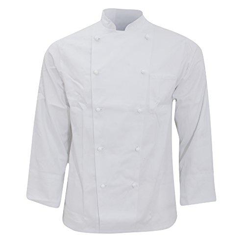 Karlowsky - Casacca Doppio Petto da Chef - Unisex (XL) (Bianco)