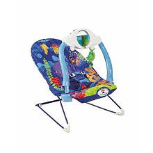 Amazon.com : Fisher-Price Ocean Wonders Deep Blue Sea Baby Bouncer : Infant Bouncers And Rockers ...
