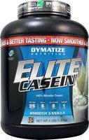 Dymatize Elite Casein Smooth Vanilla -- 4 Lbs