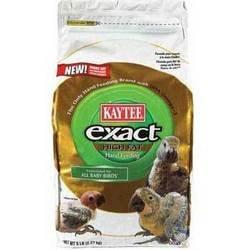 Cheap Bird Supplies Kaytee Exact Handfeed Baby Bird High Fat 5Lb (KT94462)
