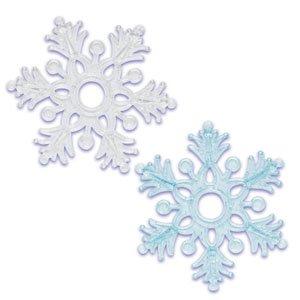 Amazon.com: Snowflake Frozen Glitter Plastic Cake Topper ...