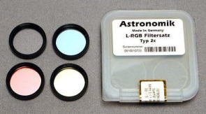 Astronomik RGB Type 2 Filter Set 1.25