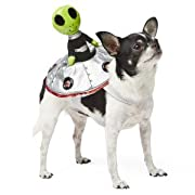 Top Paw Alien Rider Halloween Dog Costume LIGHTS UP!! S/M