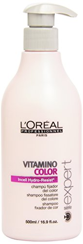 Loreal Series Expert Vitamino Color Shampoo, 16.9-Ounces Bottle