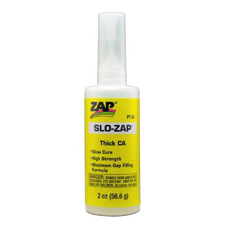 Pacer Technology (Zap) Pacer Technology (Zap) Slo-Zap (Thick) Adhesives, 2 oz