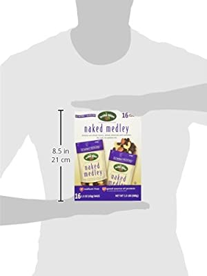 Second Nature Naked Medley Sun-Dried Raisins, Whole Almonds and Cashews, 16 Count by Second Nature