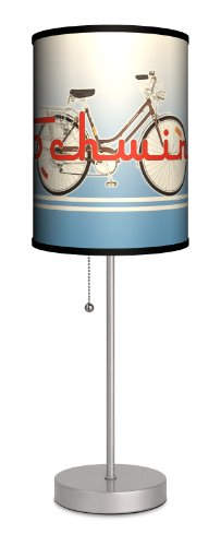 Schwinn - Stripes Sport Silver Lamp