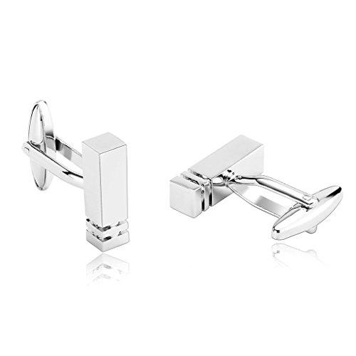 daesar-mens-stainless-steel-cuff-links-silver-classical-pillar-column-twin-grooves-cufflink