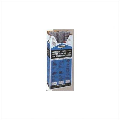 G & B 308247B 24-Inch x 50-Foot 1/4-Inch Galvanized Mesh Garden Cloth (Hardware Cloth 1 4 compare prices)