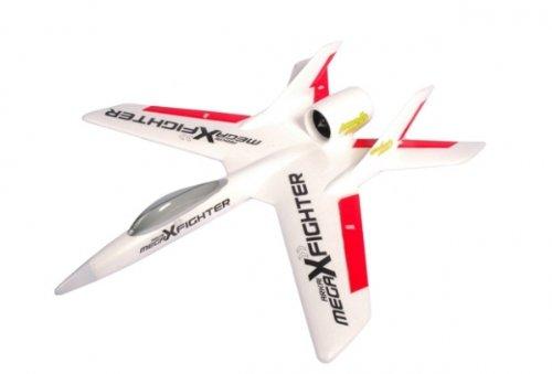 Arkai-Mega-X-Fighter-m-Brushlessimpeller-EPO-4-x-Servos-fertig-eingebaut-Zubehr-FLUGFERTIG-vormontiert