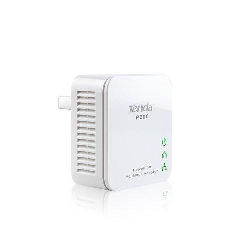 Couple Power Line convertit réseau électrique dans une tente P200 de réseau de données