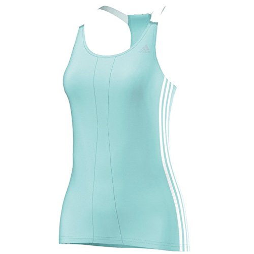 adidas - Maglia sportiva - Senza maniche  -  donna Bianco bianco