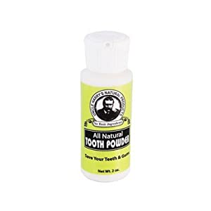 All Natural Tooth Powder