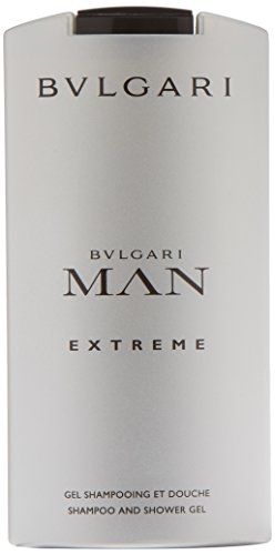 Bulgari Extreme Shampoo & Gel Doccia, Uomo - 200 ml