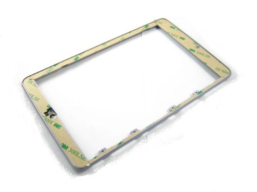 For Asus Google Nexus 7 (2012) Silver ~ Front Frame Bezel Cover Housing ~ Mobile Phone Repair Part Replacement