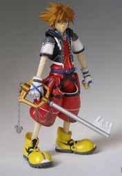 Kingdom Hearts Sora Limit Form Kingdom Hearts 2 Play Arts