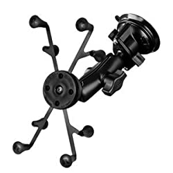 RAM Mount Twist Lock Suction Cup Base w/Universal X-Grip II