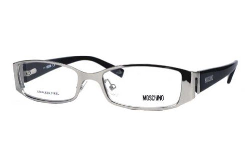 Moschino Moschino MO 060 Palladium Black (01) Full Rim Eyeglasses 52mm
