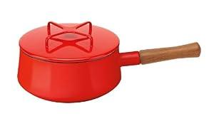 Dansk 834298 Kobenstyle Saucepan, 2-Quart, Chili Red by Dansk
