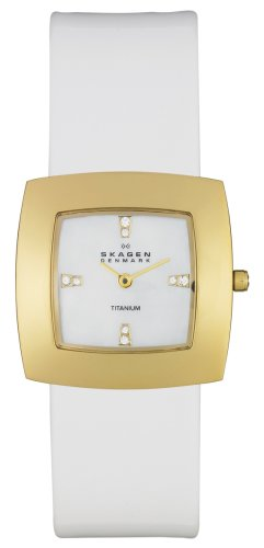 Skagen - 570stglw - Montre Femme - Quartz - Bracelet Acier inoxydable