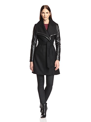 DL2 by Dawn Levy  Women's Winnie Oversized Collar Wool Coat
