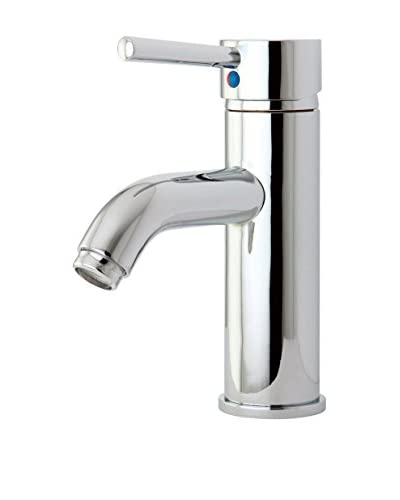Kingston Brass Lavatory Faucet With Push-Up Pop-Up, Polished Chrome