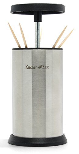 Stainless Steel Toothpick Holder By Kitchen Zest Pop Up