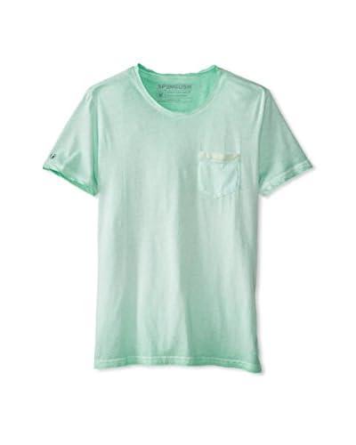 Spenglish Men's Basic Crew Neck T-Shirt