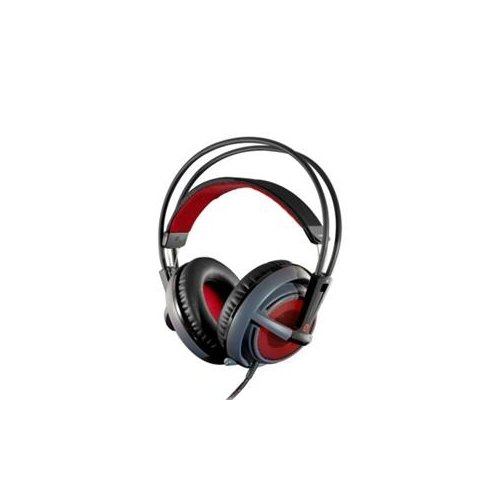 Steel Series 51143 / Siberia V2 Full-Size Headset Stereo - Gray - Wired - 40 Ohm - 18 Hz - 28 Khz - Over-The-Head