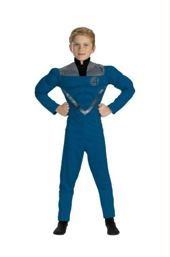 Costumes For All Occasions Dg5187K Mr Fantastic Muscle 7 To 8