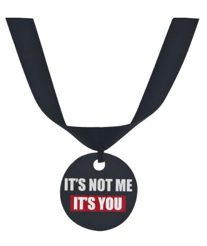 "Ganz Grumpy Cat Collar Accessory ""It's Not Me It's You"" - 1"