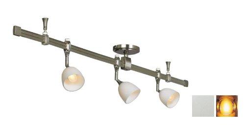 Nora Lighting NRS29-4204SAM 3 Light Straight Rail Track Lighting