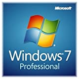 New Microsoft Windows 7 Professional With Service Pack 1 32-bit 1 PC Licen